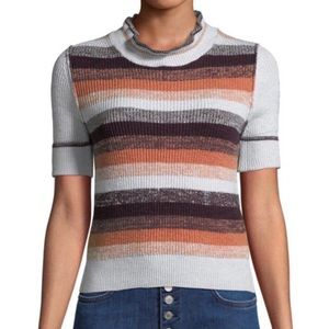 NWOT FP Best Intentions Knit Striped Top